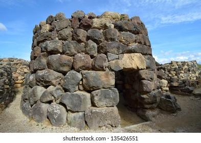 The nuraghe (nuraghi, nuraghes) is ancient megalithic edifice, the symbol of Sardinia and the Nuragic civilization.
