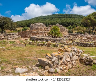 Nuraghe Palmavera, Alghero, Sardinia, Italy.  is an archaeological site located in the territory of Alghero, Sardinia. Built during the Bronze and the Iron Ages.