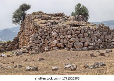 "The nuraghe ""Sa Domu e s'Orcu"" (The ogre's house) in Domusnovas. Sardinia, Italy"