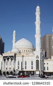 Nur-Astana Mosque in Astana city, Kazakhstan
