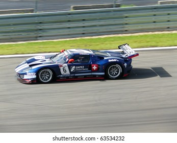 NURBURGRING - AUGUST 27: Nicolas Prost, Team Matech Competition, during pre-qualifying for the FIA GT1 World Championship race at Nurburgring, August 27, 2010 in Nurburg, Germany