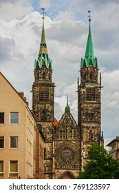 Nuremberg Cathedral, Germany. St. Lawrence church.