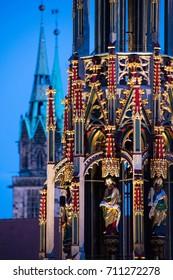 Nuremberg christmas fair market german christmas