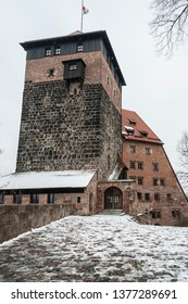 Nuremberg Imperial Castle (Keiserburg) from Holy Roman Empire - one of the main sights of the city and symbol of Nuremberg - Germany