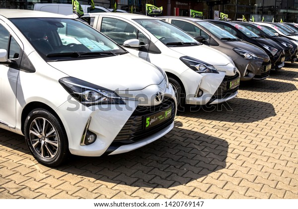 Toyota Official Site >> Nurnberg Germany Apr 42019 Toyota Cars Stock Photo Edit Now