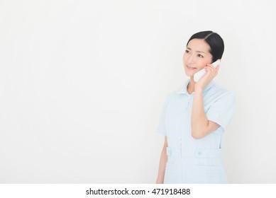 nurse or healthcare worker