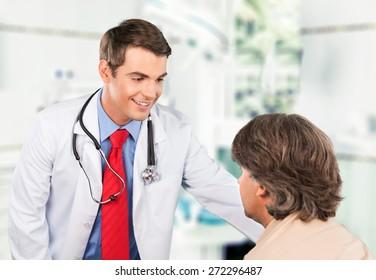 Nurse, Patient, Doctor.