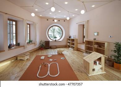 nursery for children in Zen style