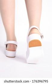 Nurse's feet