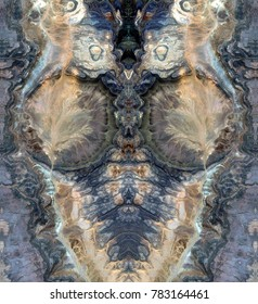 nursing mother, symmetrical photographs of abstract landscapes of the deserts of Africa from the air, magical, artistic, landscapes of your mind, just for crazy, optical illusions