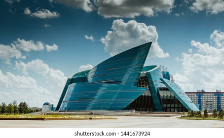 Nur-Sultan, Astana/Kazakhstan, August 4, 2018 Kazakhstan Central Concert Hall