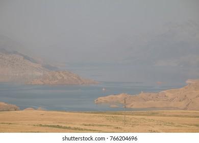 Nuruk Reservoir, Chalton, Tajikistan, Central Asia