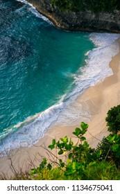 Nusa Penida. Kelingking beach