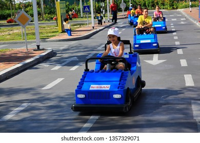 Nusajaya, Johor Baru, Malaysia. 21 July 2012. Legoland Malaysia was the first international amusement park in Johor Baru, Malaysia and the first Legoland in Asia.