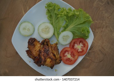 Nusantara Fried Chicken is a Southeast Asian dish which is fried chicken in cooking oil