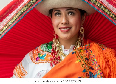 Nusta - Virgin princess of the indigenous people of Otavalo. The Nusta symbolizes the virgin land that has not yet been fertilized