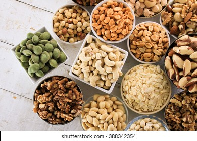 nut selection in dishes