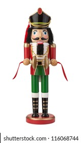 Nutcracker Isolated with clipping path on a white background