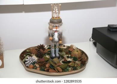 Nutcracker on Counter