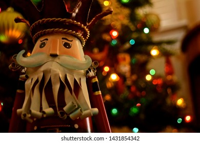 Nutcrackers made of metal and wood, either hanging as an ornament in the Christmas tree or just standing alone. Favorite Christmas soldiers.