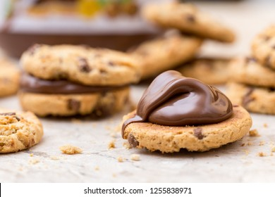 nutella cookies chocolate