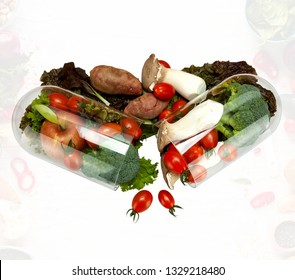 Nutraceutical vegetables and fruits
