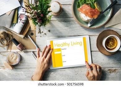 Nutrition Fact Digital Device Concept