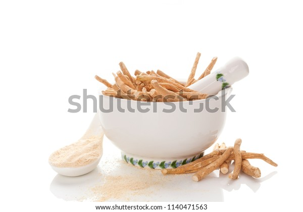 Nutritional supplement ashwagandha.