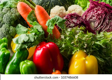 Nutritious colorful vegetables