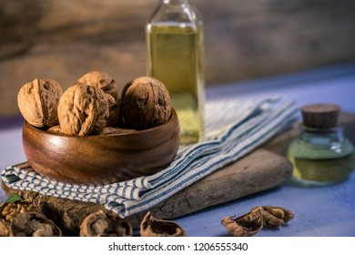 Nutty walnut oil