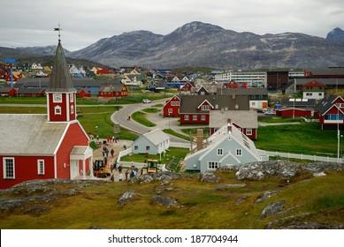 Nuuk, the capital of Greenland