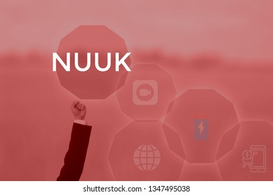 NUUK - technology and business concept