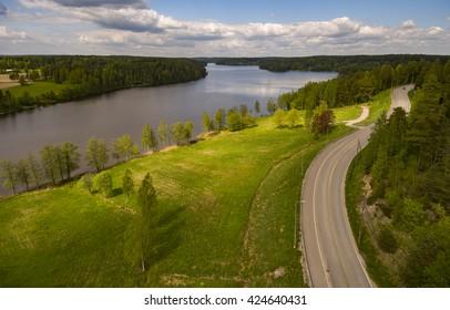 Nuuksio nature reserve, espoo, Finland