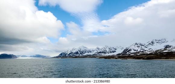 Ny Alesund bay