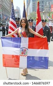 NY, NY / USA August 10 2014 Jenny Blanco Parada Dominicana Dominican Day Parade