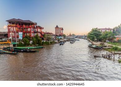 Nyaung Shwe Images, Stock Photos & Vectors | Shutterstock