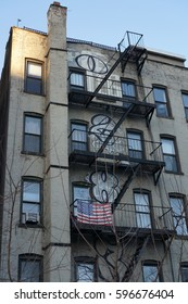 NYC Apartment With Fire Escapes