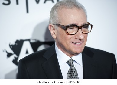 """NYC - APRIL 20 - Director Martin Scorsese arrives for the opening night of the Tribeca Film Festival and world premier of """"The Union"""" on April 20, 2011 in New York City, NY"""