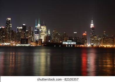NYC evening