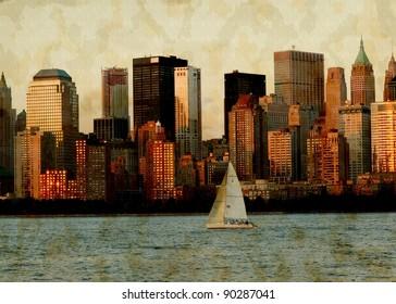 NYC grunge photo