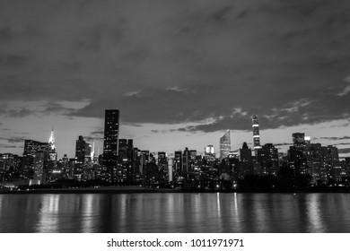 NYC midtown skyline from Long Island City