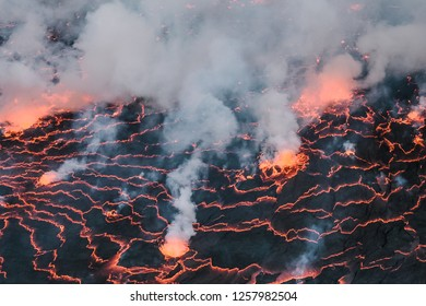 Nyiragongo in Virunga National Park