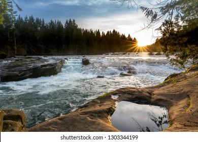 Nymph Falls, Comox Valley BC