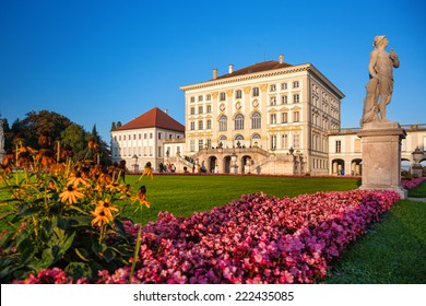 Nymphenburg castle  in Munich, Germany