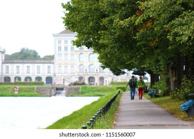Nymphenburg Palace in Autumn, Munich, Germany