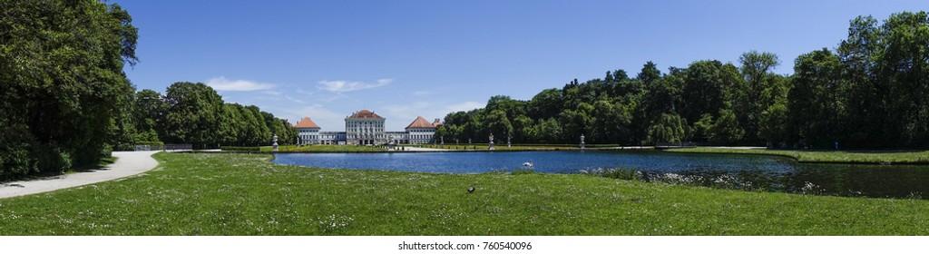 Nymphenburg Palace in Munich, Bavaria, Upper Bavaria, Germany, Europe, 21. May 2014