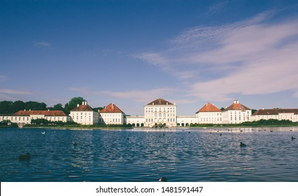 Nymphenburg palace in munich, one of the great king palace in europe