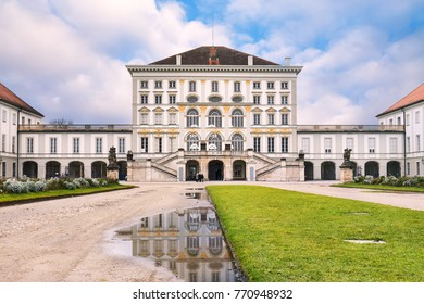 The Nymphenburg Palace (Schloss Nymphenburg)  in Munich, Germany