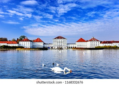 Nymphenburg palace (Schloss Nymphenburg), now is the biggest Baroque palace in Munich, Bavaria in southern Germany. The baroque facades comprise an overall width of about 700 metres.