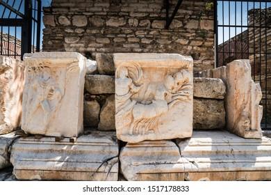 Nysa Ancient city (Antik Kenti)  Roman period. Sultanhisar district of Aydın Province of TURKEY.